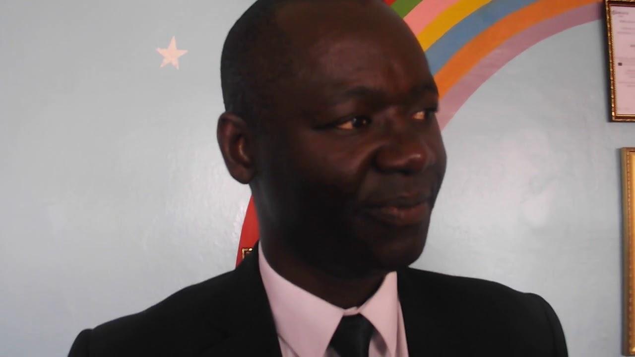 Abdou Lahad LO  Coordonnateur Programme FAEEJ,Salue la réelection du Prsident Macky SALL