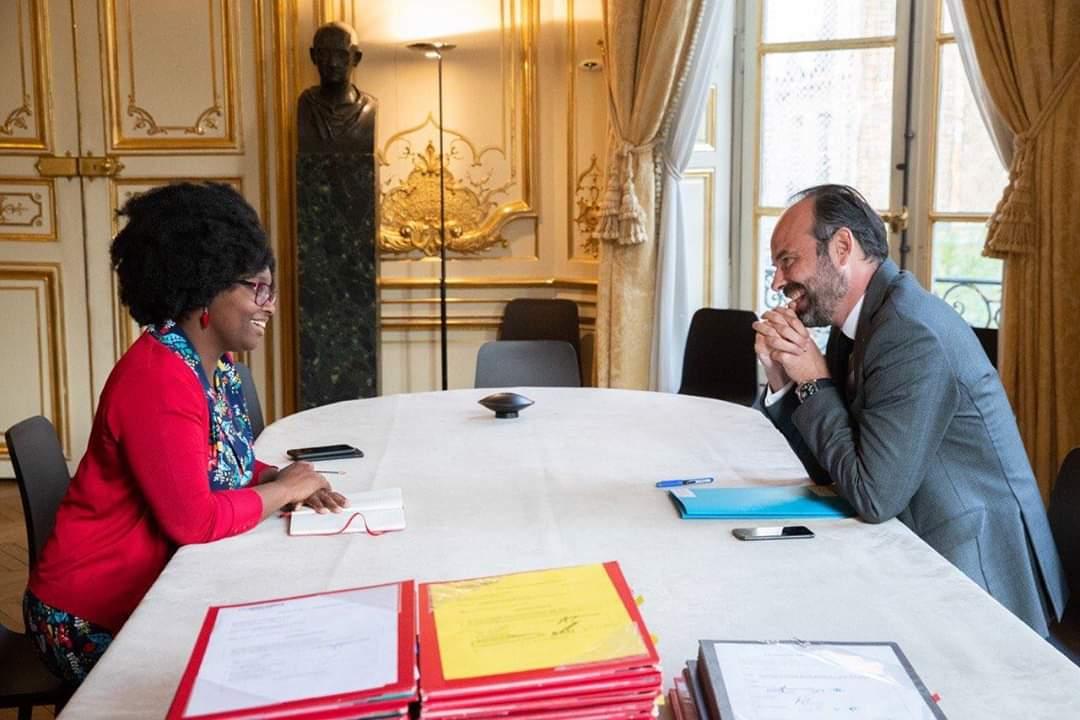 France: Sibeth NDIAYE , Porte parole du Gouvernement