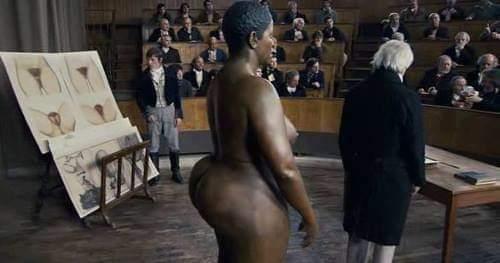 Saartjie Baartman, la femme noire qui fait l'objet d'exposition à cause de sa forme généreuse