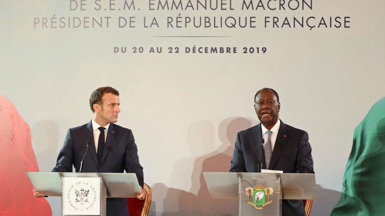 La fin du franc CFA annoncée par Emmanuel Macron et Alassane Ouattara