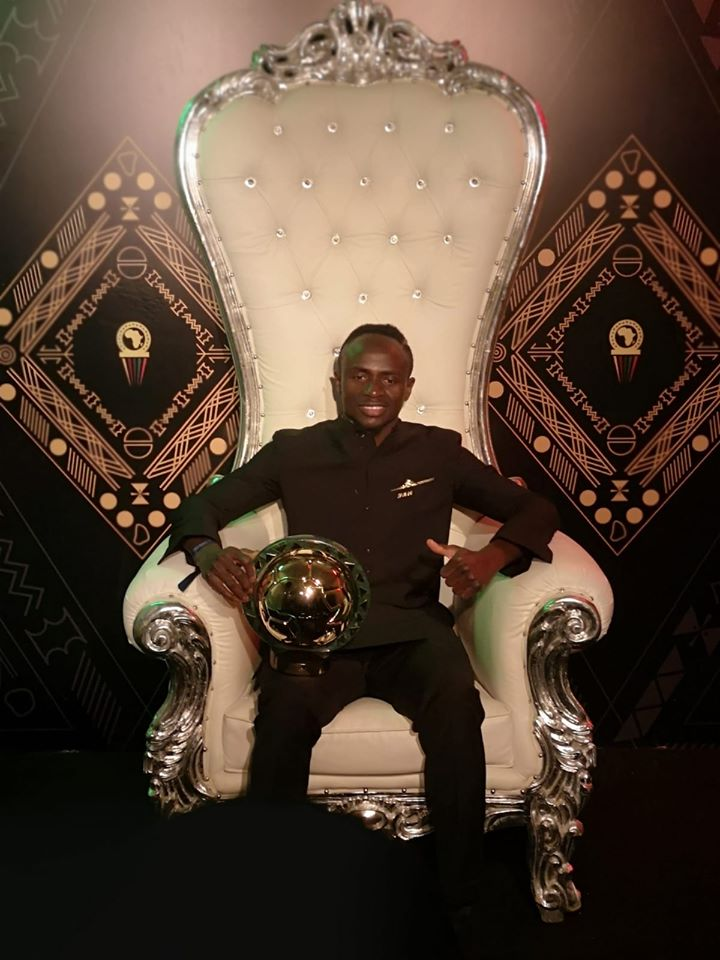 Sadio Mané, nouveau roi d'Afrique